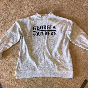 Georgia southern cozy pullover